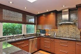 Flat Kitchen Cabinets Entrancing Tall Corner Cabinet Kitchen With Flat Panel Cabinet