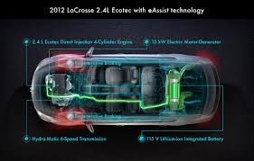 2012 buick lacrosse with eassist gets 37 mpg on the highway the