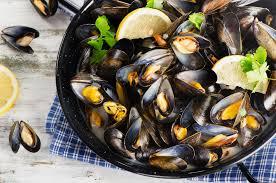 moules cuisin馥s comment cuire et préparer les moules de bouchot aop marciatack fr