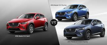 mazda 3 sport 2016 mazda cx 3 trim comparison