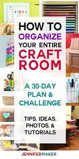 clever craft organization ideas craft storage solutions paint