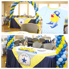 converse chucks and ducks baby boy shower baby showers by chloe