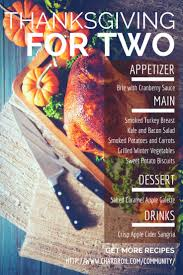 best 25 thanksgiving dinner for two ideas on