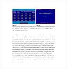 8 classroom jeopardy templates free sample example format