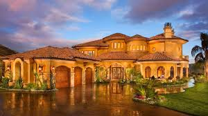 mediterranean style mansions tuscan style homes with courtyard front entrance design ideas