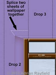 how to wallpaper around a window or door reveal painting