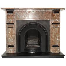 marble fireplace surround room interior with white marble