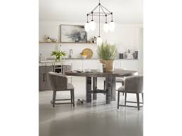 Modern Round Dining Table by Hooker Furniture Curata Large Modern Round Dining Table Baer U0027s