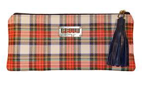 kerry clutch tartan plaid leather u2013 pelli couture