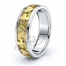 christian engagement rings christian wedding bands leo christian ring comfort 7mm