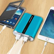 power master portable power bank 12000 mah dual usb charging