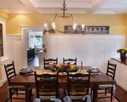Wainscoting In Dining Room Dining Room Wainscoting Moulding Houzz