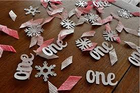 Winter Onederland Party Decorations Pink Winter One Derland Party Planning Ideas And Supplies Party