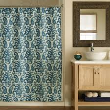 bathroom decorating ideas shower curtain subway tile entry