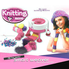 amazon com smart weaver knitting kit machine for kids quick