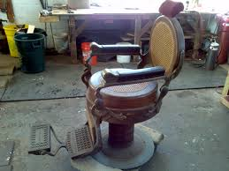 Barber Chairs For Sale Craigslist Antique 1901berninghaus Wooden Barber Shop Chair Obnoxious Antiques