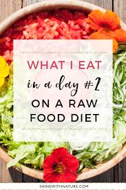what i eat in a day 2 low fat raw vegan shine with nature