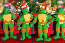the sewer den 24 days of turtle 2014 day 15 plush ornaments