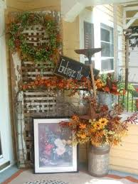 autumn porch decorating contest 2009