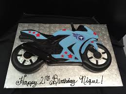 motorcycle cake titan s football motorcycle 2 d birthday cake motorcycle