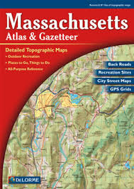 massachusetts road map massachusetts delorme atlas road maps topography and more