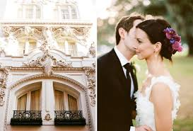 wedding dresses new orleans new orleans quarter wedding city building hair flower