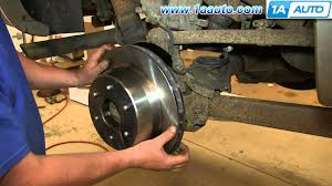 how to install replace emergency brake shoes 2000 06 chevy
