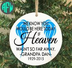 merry christmas from heaven ornament pewter memorial ornaments