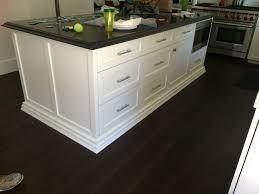 Custom Island Kitchen Shaker Full Overlay White Custom Island Atc Cabinets Modesto Ca