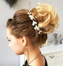 bridal hair bun 40 chic wedding hair updos for brides