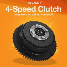4 speed clutch for splined mainshaft baker drivetrain