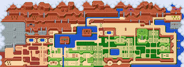 legend of zelda map with cheats the legend of zelda map by sirzauberer on deviantart