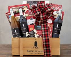 country wine gift baskets robert mondavi selection gift basket at wine country gift