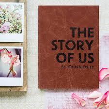 personalised wedding gifts personalised wedding gift the story of us personalised wedding