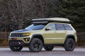 lowered jeep wagoneer 2015 jeep grand cherokee overlander conceptcarz com