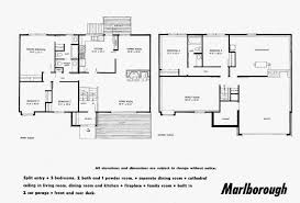 small contemporary house plan two storey open floor home