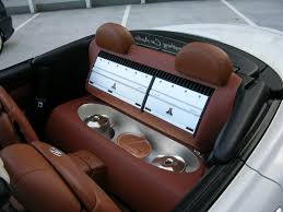 lexus ls backseat any ideas on custom stereo systems clublexus lexus forum