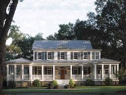 large country homes projects inspiration 8 big back porch house plans 17 pretty with