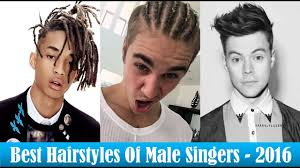 hair styles from singers best hairstyles of male singers 2016 best of 2016 youtube