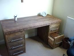 Wooden Office Desk Reclaimed Wood Home Office Desk Best Ideas On Corner Rustic