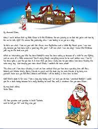 unlimited printable santa letters christmas letter tips