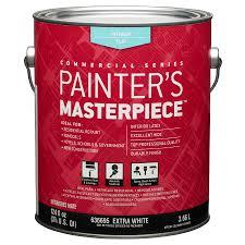 shop painter u0027s masterpiece white flat latex interior paint actual