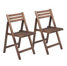 Vintage Outdoor Folding Chairs Furniture Solid White Armless Wooden Folding Chair With Thin