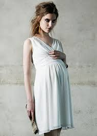 noppies maternity liane maternity cocktail dress in white by noppies