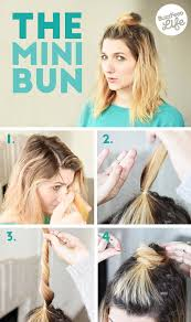 hair buns for hair 26 hairstyles you can learn in 10 steps or less