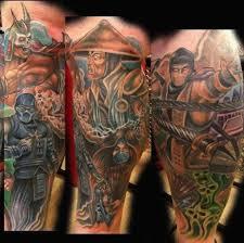 tattoos for green lady scorpion mortal kombat tattoo www