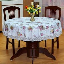 online get cheap plastic lace tablecloth aliexpress com alibaba pastoral pvc round table cloth oilproof floral printed lace edge plastic table covers tablecloth for dining