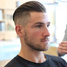 mens prohibition hairstyles love this slick back but could use some more on the sides