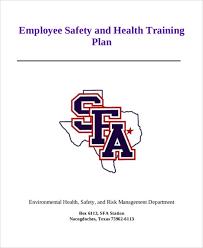 5 employee training plan templates free samples examples format