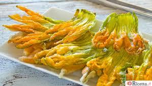 ricette con fiori di zucchina al forno come fare i fiori di zucca ripieni al forno ricetta it